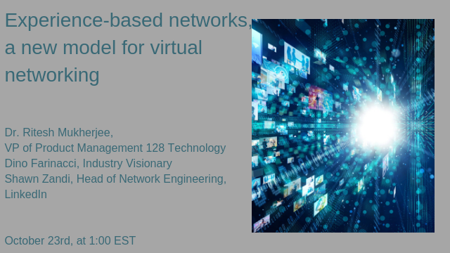 Title: Experience-based networks, a new model for virtual networking