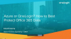 Azure or OneLogin? How to Best Protect Office 365 Data