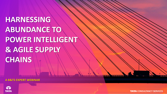 Powering an Intelligent and Agile Supply Chain