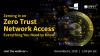 Zeroing in on Zero Trust Network Access – Everything You Need to Know