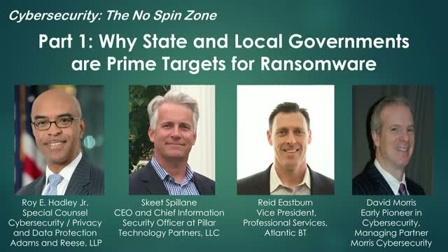 Part 1: Why State and Local Governments are Prime Targets for Ransomware