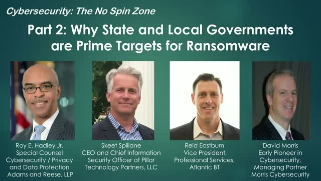 Part 2: What can State and Local Governments do to Prevent Ransomware?