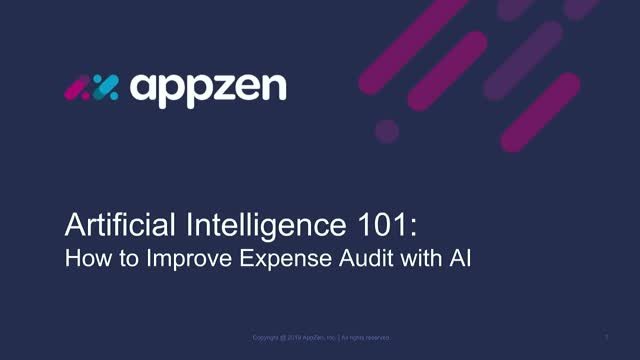 Artificial Intelligence 101: How to Improve Expense Audit with AI