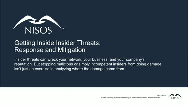 Getting Inside Insider Threats: Response and Mitigation