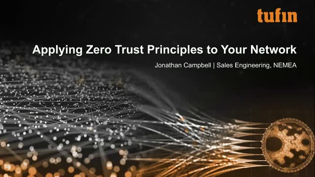 Applying Zero Trust Principles to Your Network