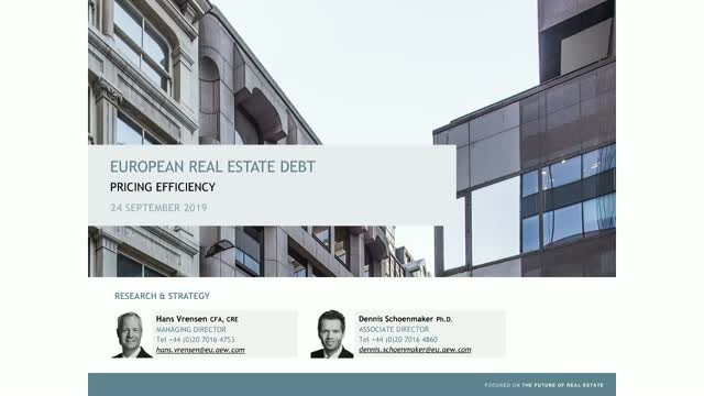 European Real Estate Debt