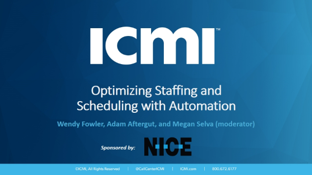 Optimizing Staffing and Scheduling with Automation