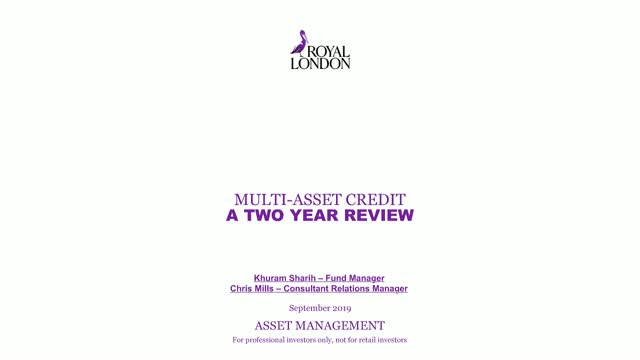 Multi Asset Credit: two year review