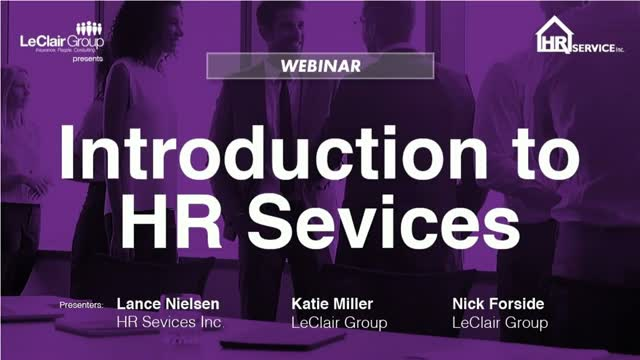 Introduction to HR Service Inc