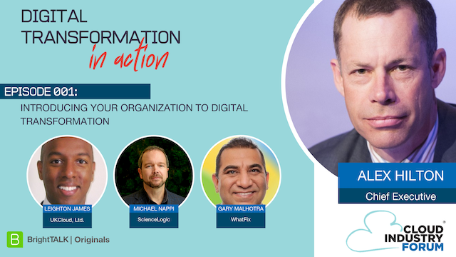 Introducing your Organization to Digital Transformation