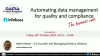 Automating data management for quality and compliance – the business case