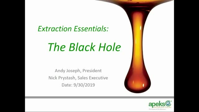 The Extraction Black Hole