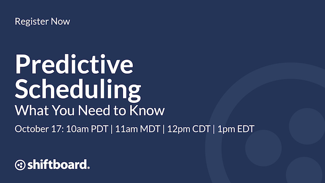 Predictive Scheduling: What You Need to Know