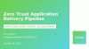 Zero Trust Application Delivery Pipeline