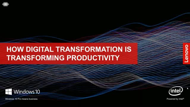 How Digital Transformation Pushes Productivity