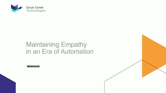 Maintaining Empathy in an Era of Claims Automation