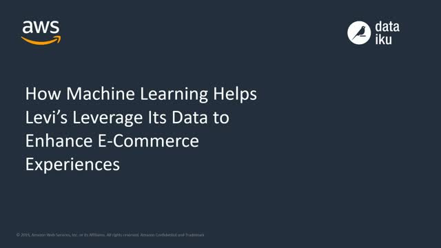 How Machine Learning Helps Levi's Leverage Data to Enhance E-Commerce Experience