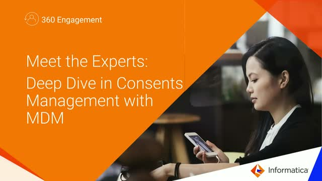 Meet the Experts: Deep Dive in Consent Management with MDM