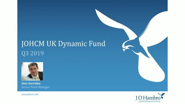 JOHCM UK Dynamic Fund Q3 2019 Update