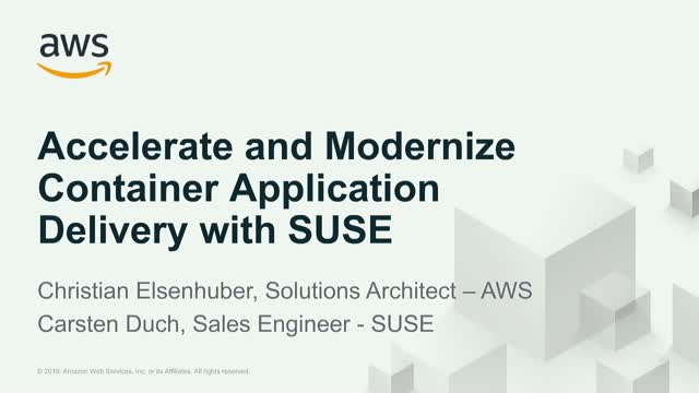 SUSE Cloud Application Platform auf Amazon EKS