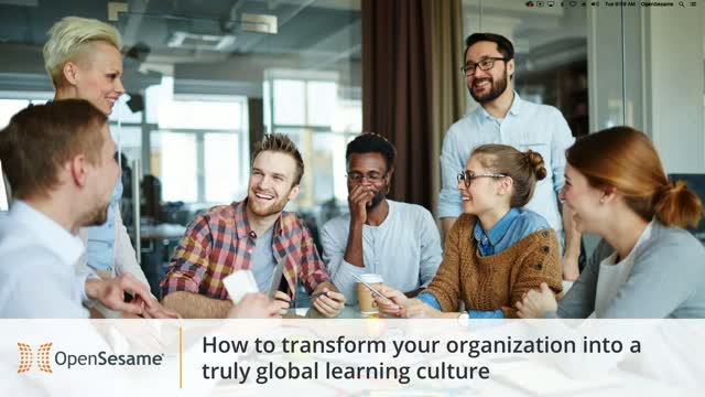 How to transform your organization into a truly global learning culture