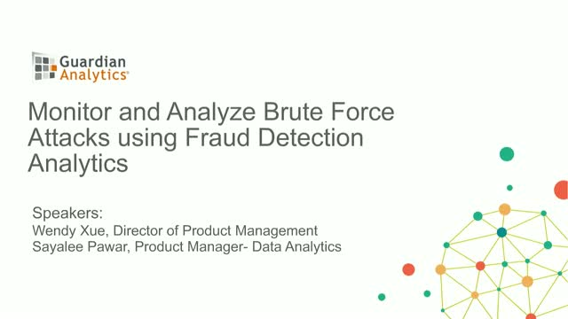 Monitor and Analyze Brute Force Attacks using Fraud Detection Analytics