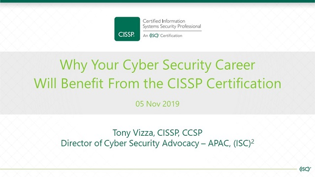 Why Your Cyber Security Career Will Benefit From the CISSP Certification