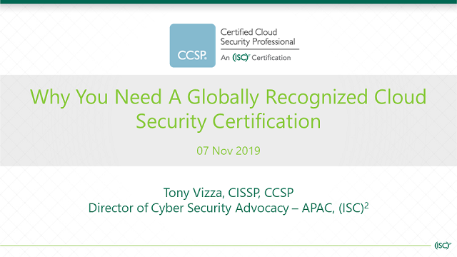 Why You Need A Globally Recognized Cloud Security Certification