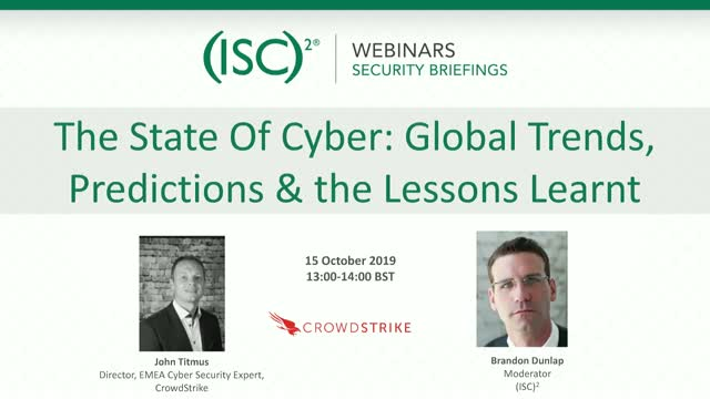 The State Of Cyber: Global Trends, Predictions & the Lessons Learnt