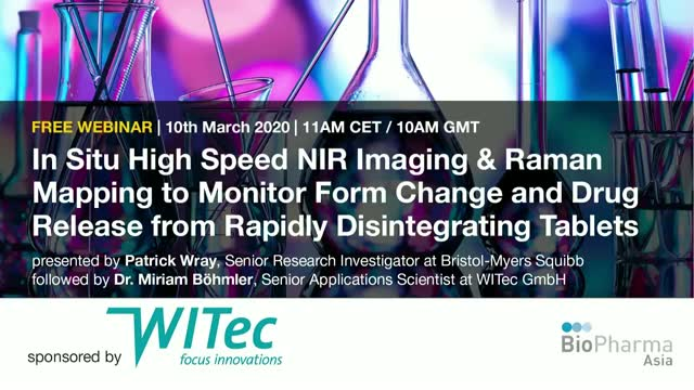 In Situ High Speed NIR Imaging to Monitor Form Change and Drug Release from...