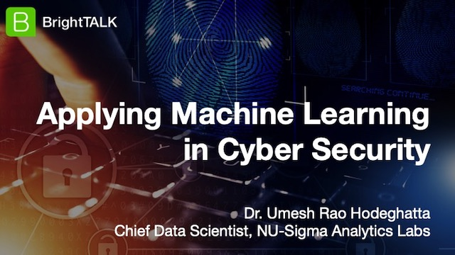 Applying Machine Learning in Cyber Security