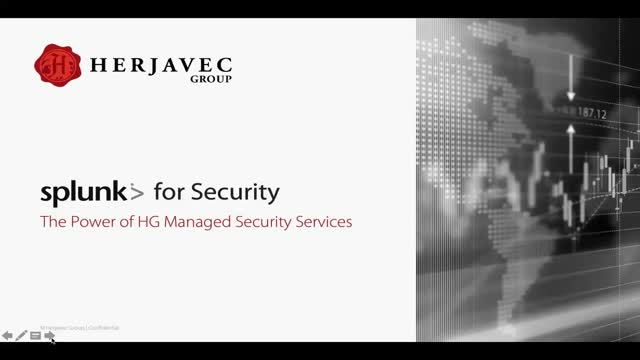 Splunk for Security – ThePowerofHerjavec Group Managed Security Services