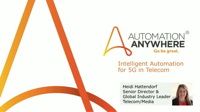 Applying Intelligent Automation to 5G in Telecom