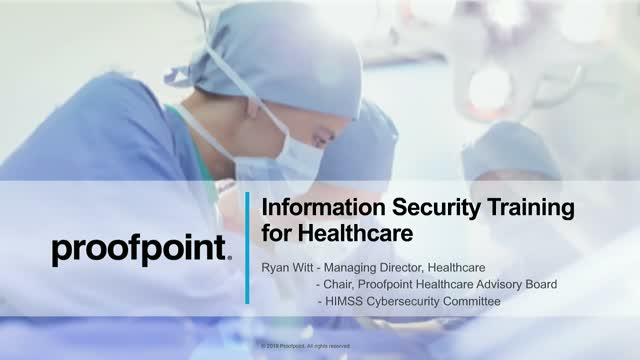 Live Demo: Security Training for Healthcare