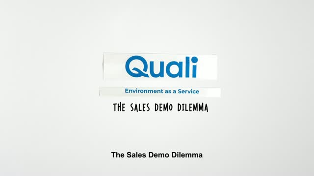 The Sales Demo Dilemma
