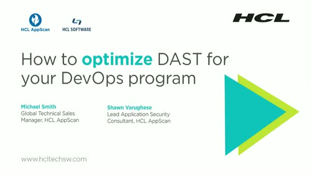 How to Optimize DAST for Your DevOps Program