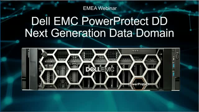 Dell EMC PowerProtect DD Series: The Ultimate Protection Storage Appliance