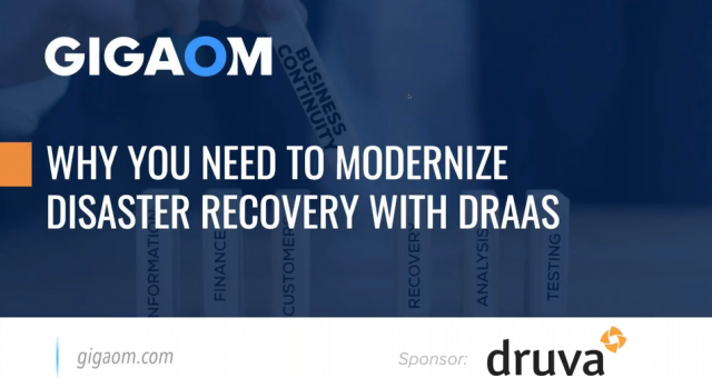 Why You Need to Modernize Disaster Recovery with Disaster Recovery SaaS