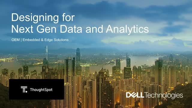 Designing Customer Experience for Next Gen Data and Analytics