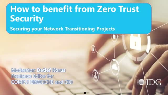 How corporate network projects benefit from Zero Trust