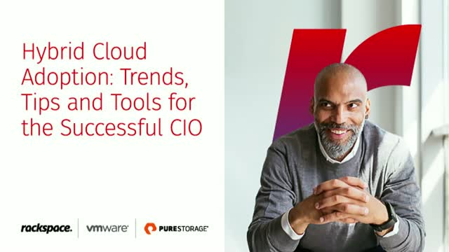 Hybrid Cloud Adoption: Trends, Tips and Tools for the Successful CIO - APJ