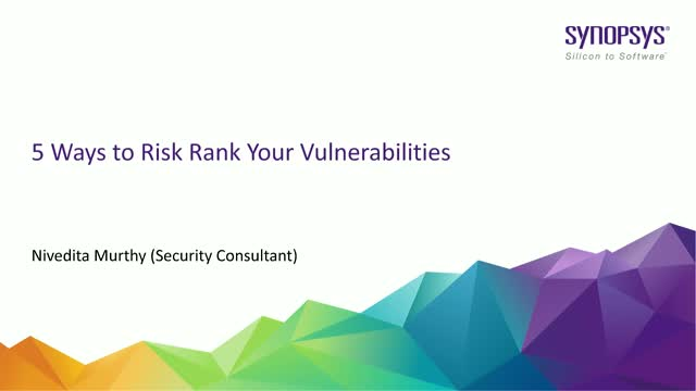 5 Ways to Risk Ranking Your Vulnerabilities