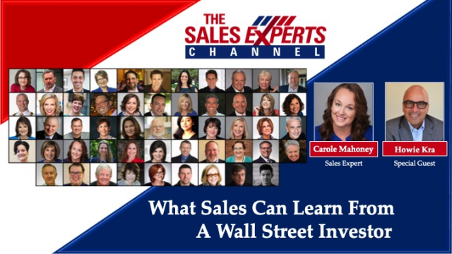 What Sales Can Learn From a Wall Street Investor