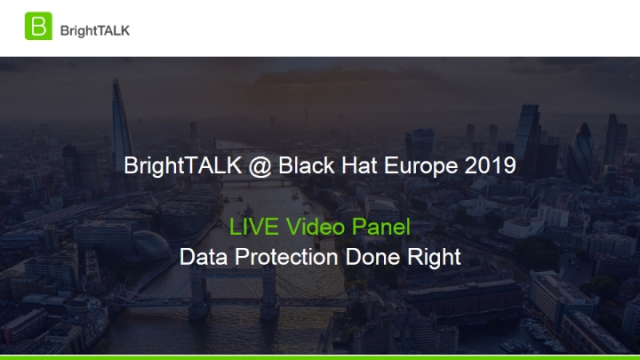 Live Video Panel – Data Protection Done Right