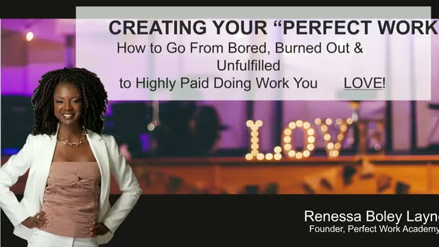 How to Go From Bored,Burned Out & Unfulfilled to Highly Paid Doing Work You Love