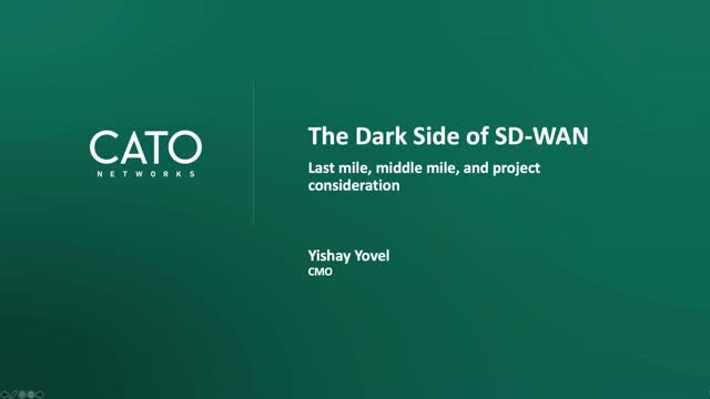 The Dark Side of SD-WAN