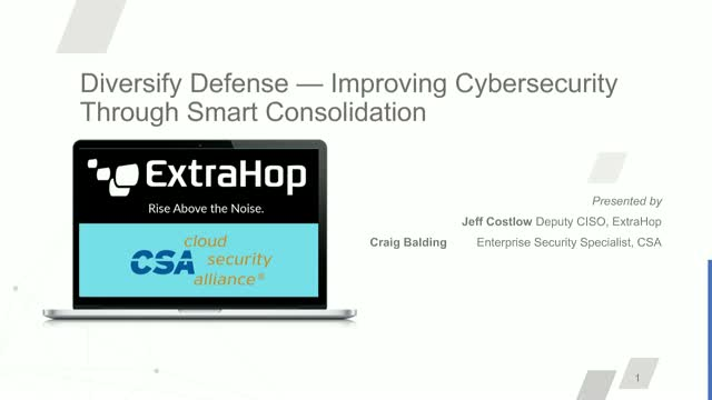 Diversify Defense — Improving Cybersecurity Through Smart Consolidation
