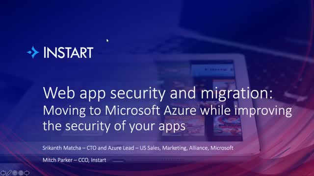 Instart and Microsoft Azure: Transforming and securing web apps in the cloud