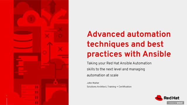 Taking your Red Hat Ansible Automation skills to the next level