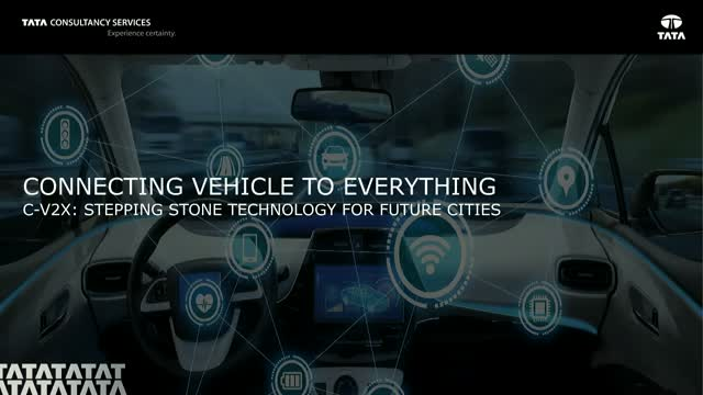 Connecting Vehicle to Everything - C-V2X: Stepping Stone Tech for Future Cities